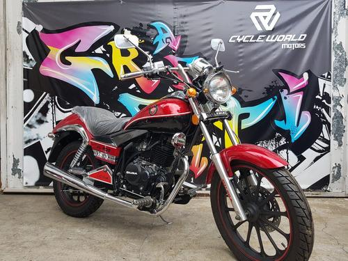 moto gilera yl 200 custom 2018 0km blanca hasta el 19/10