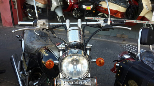 moto gilera yl 200 rojo chopera 2017 0 km hasta 12/10
