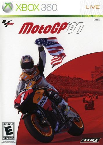 moto gp 07 corrida motocross xbox 360 original frete r$12