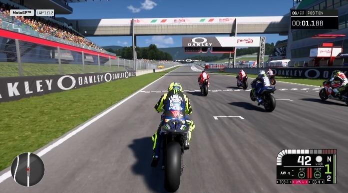 Pilotar motos diferentes em simulador