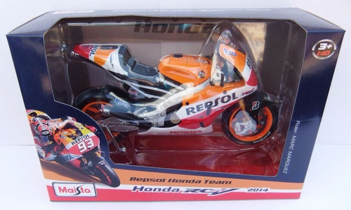 moto gp honda mark marquez #93. 22cms  a escala 1:10