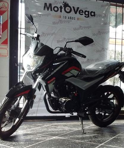 moto guerrero gr1 200 12cuotas con tarjeta tipo yamaha.