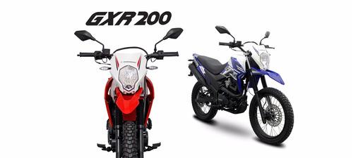 moto guerrero gxr 200 enduro cross xtz financacion dni nueva