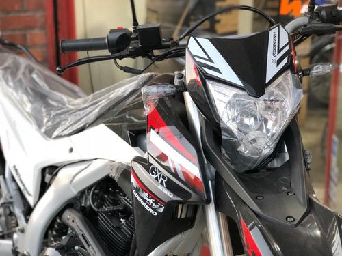moto guerrero gxr 250 0km 2017 - enduro xtz tornado txr