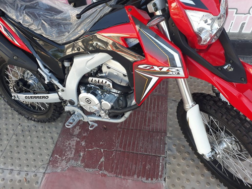 moto guerrero gxr 300  enduro en oferta  motovega