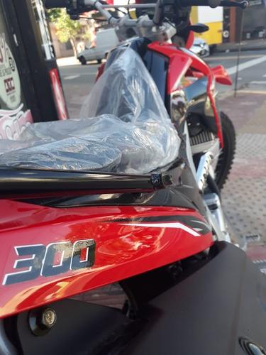 moto guerrero gxr 300 on-of enduro en 12 cuotas con tarjeta