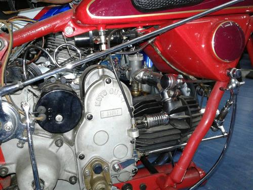 moto guzzi  modelo : s 15 - 500 cc año 1934