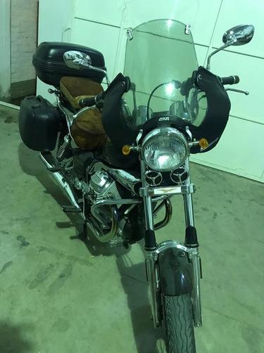 moto guzzi nevada 750 original con accesorios $700.000