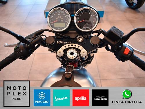 moto guzzi v7 3 racer 750i abs 2018 motoplex motos