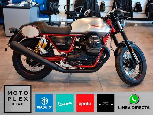 moto guzzi v7 3 racer 750i abs 2018 nueva motoplex pilar