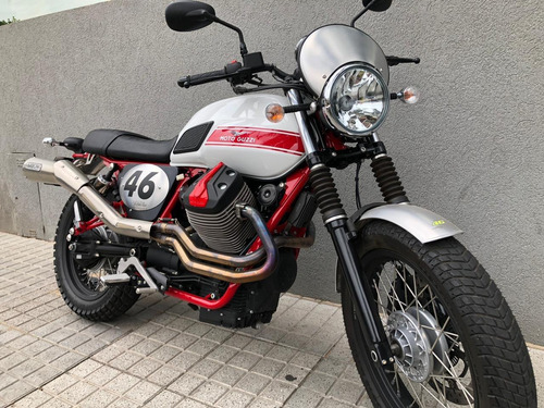 moto guzzi v7 ii stornello 2016 c/800 km pro seven!!!!