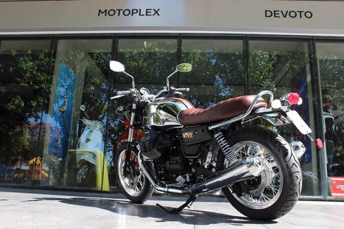 moto guzzi v7 iii 50 aniversario abs 0 km  - motoplex devoto