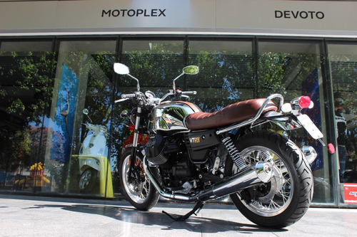 moto guzzi v7 iii 50 aniversario abs cromada motoplex devoto
