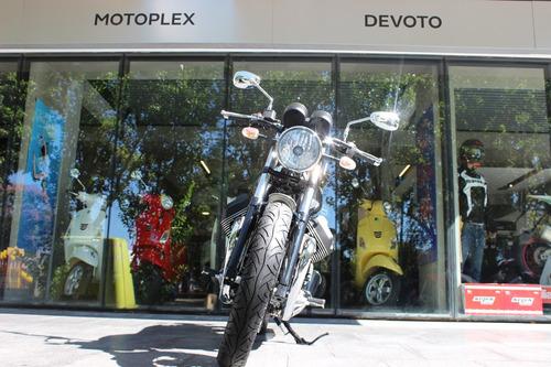 moto guzzi v7 iii 50 aniversario cromada - motoplex devoto