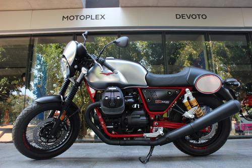 moto guzzi v7 iii racer 0 km abs ohlins - motoplex devoto