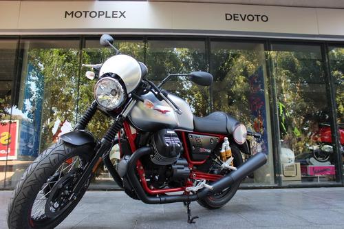 moto guzzi v7 iii racer 0 km con ohlins - motoplex devoto
