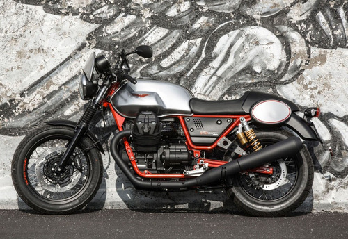 moto guzzi v7 iii racer- domotos