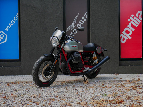moto guzzi v7 iii racer - motoplex san isidro no scrambler