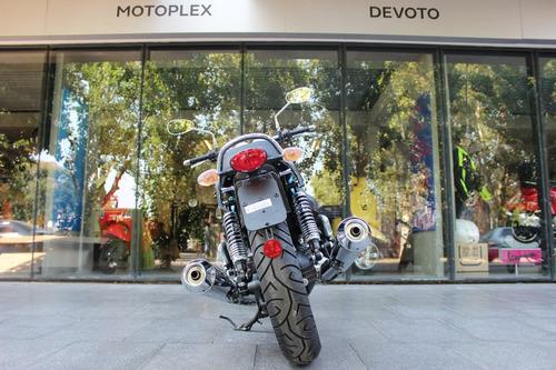 moto guzzi  v7 iii special 0km retro azul - motoplex devoto