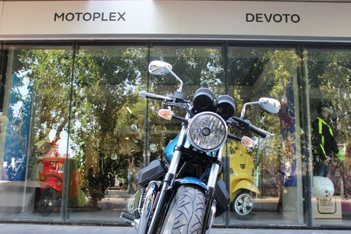 moto guzzi  v7 iii special azul 0km retro - motoplex devoto
