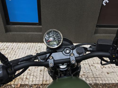 moto guzzi v7 iii stone 0 km verde motoplex san isidro