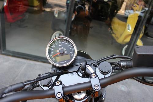 moto guzzi v7 iii stone amarilla mate 0 km - motoplex devoto