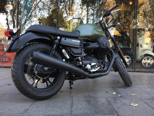 moto guzzi v7 iii stone verde  - no scrambler no boneville