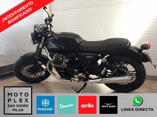 moto guzzi v7 stone 750i abs 0km patentamiento bonificado.