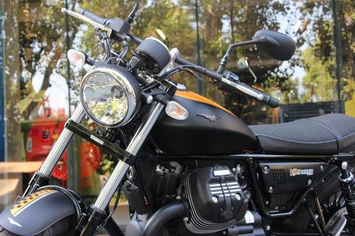 moto guzzi v9 bobber 0 km custom - motoplex devoto