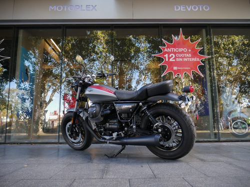 moto guzzi v9 bobber 0 km - motoplex devoto no triumph