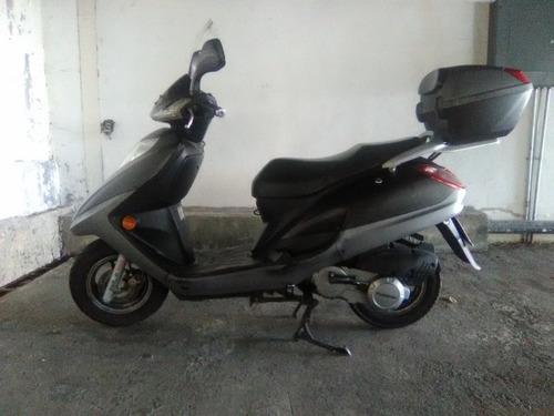 moto haojue 125 scooter  vendida