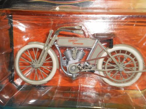 moto harley 1909 5d v-twin colección escala 1:18 maisto