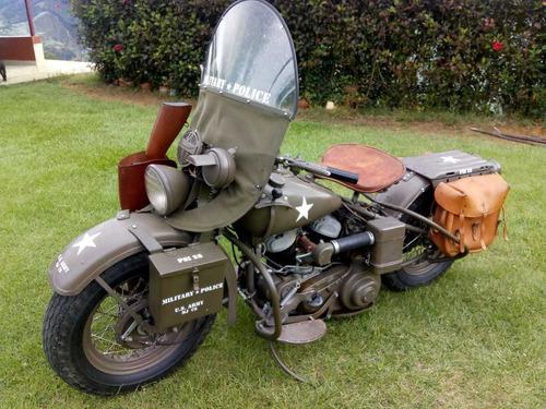 moto harley davidson 1942 chopper segunda guerra m original