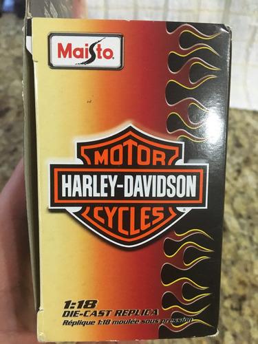moto harley davidson  maisto escala 1.18 serie 27 (8)