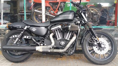moto harley davidson sporster iron 1200 accesorios impecable