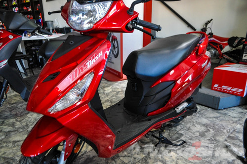 moto hero dash 110 roja motoshop ezeiza