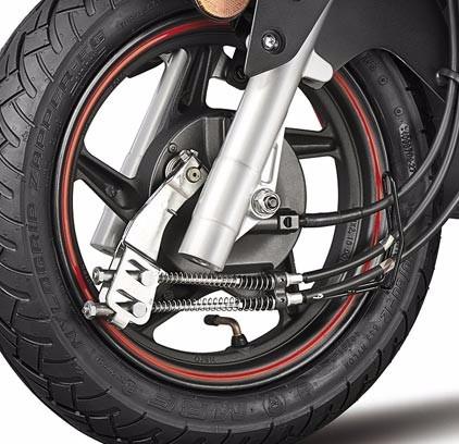 moto hero dash 110cc año 2016 naranja y azul