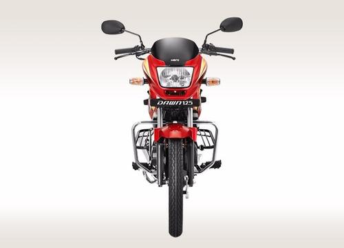 moto hero dawn 125, 125cc año 2016 azul