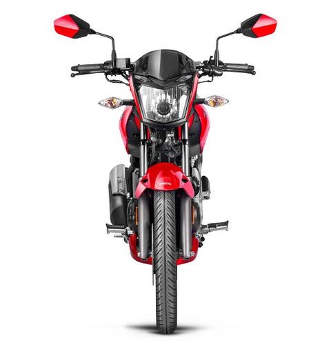 moto hero hunk 150 0km - $22750 y12 cuotas de $2502
