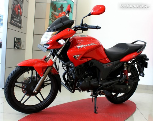 moto hero hunk 150 14.5 hp 0km 2017 india 3 años gtia