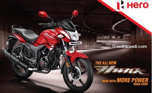moto hero hunk 150 15.5 hp i3s 0km 2019 promo al 2/3