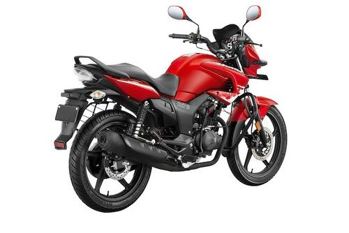 moto hero hunk 150cc año 2016