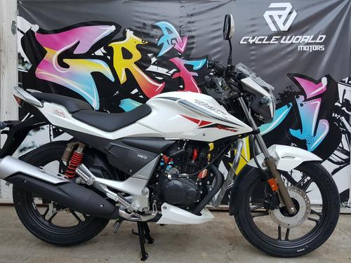 moto hero hunk sports 150 15.5 hp 0km 2018 blanca ya al 29/9