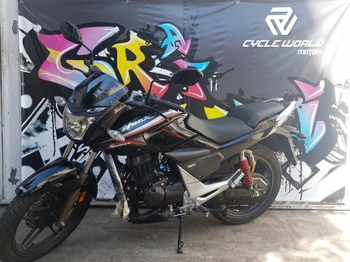 moto hero hunk sports 150 15.5 hp 0km  ex hero honda