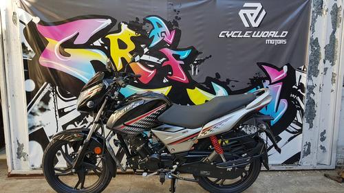 moto hero ignitor 125 0km 2018 sistema i3s azul start stop