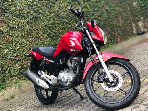 moto honda 160 fan
