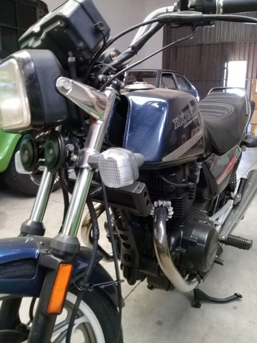 moto honda 450 dx 1989, de coleção, placas pretas