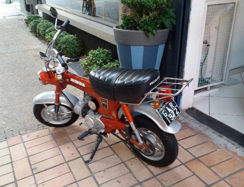 moto honda 70 cc 1972 r em mercado libre. Black Bedroom Furniture Sets. Home Design Ideas
