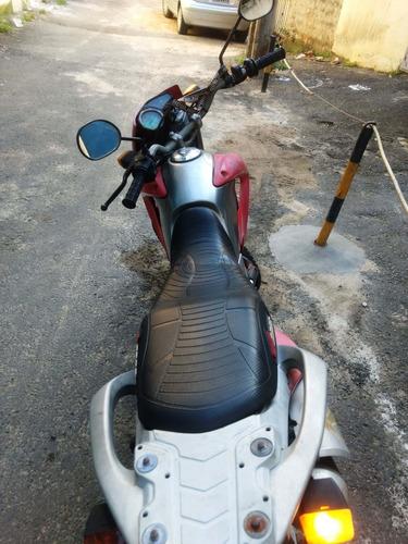 moto honda bros para interior