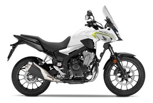 moto honda cb 500 x 0km blanca